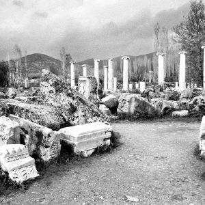 Temple, Aphrodisias, Turkey, 2000