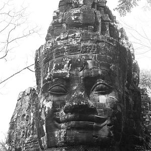 Thom North Gate, Angkor, Cambodia, 2016