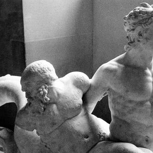 Triton and Satyr, Paris,1995