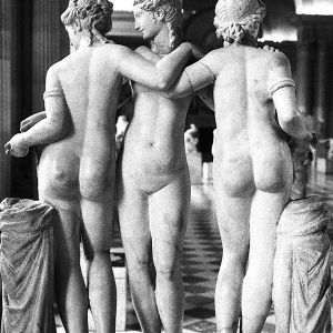 The Three Graces,  Paris, 1995